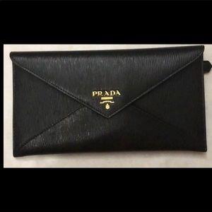 Prada Envelope Clutch